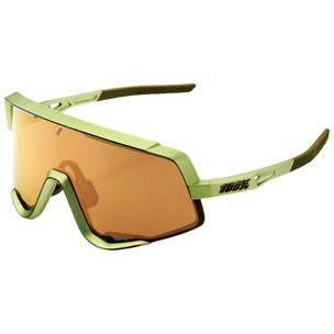100% Glendale Sunglasses With Bronze Multilayer Mirror Lens