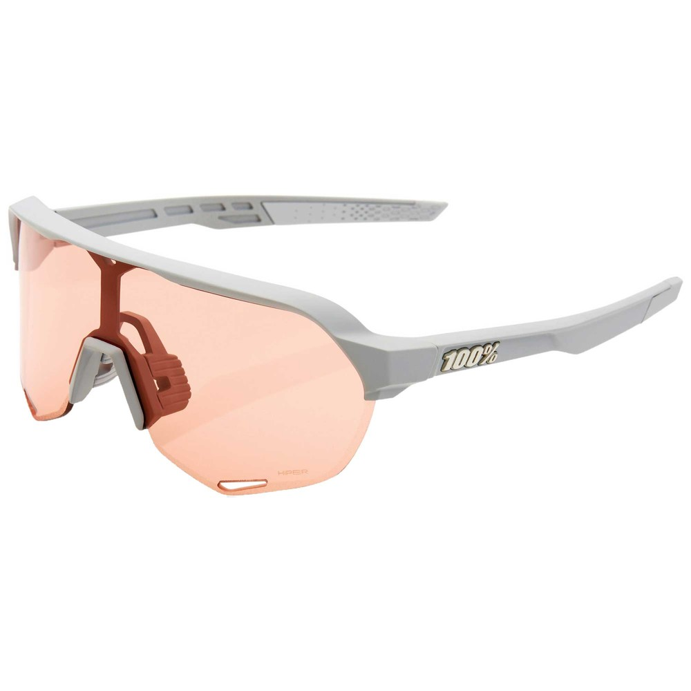 100% S2 Sunglasses With HiPER Coral Lens