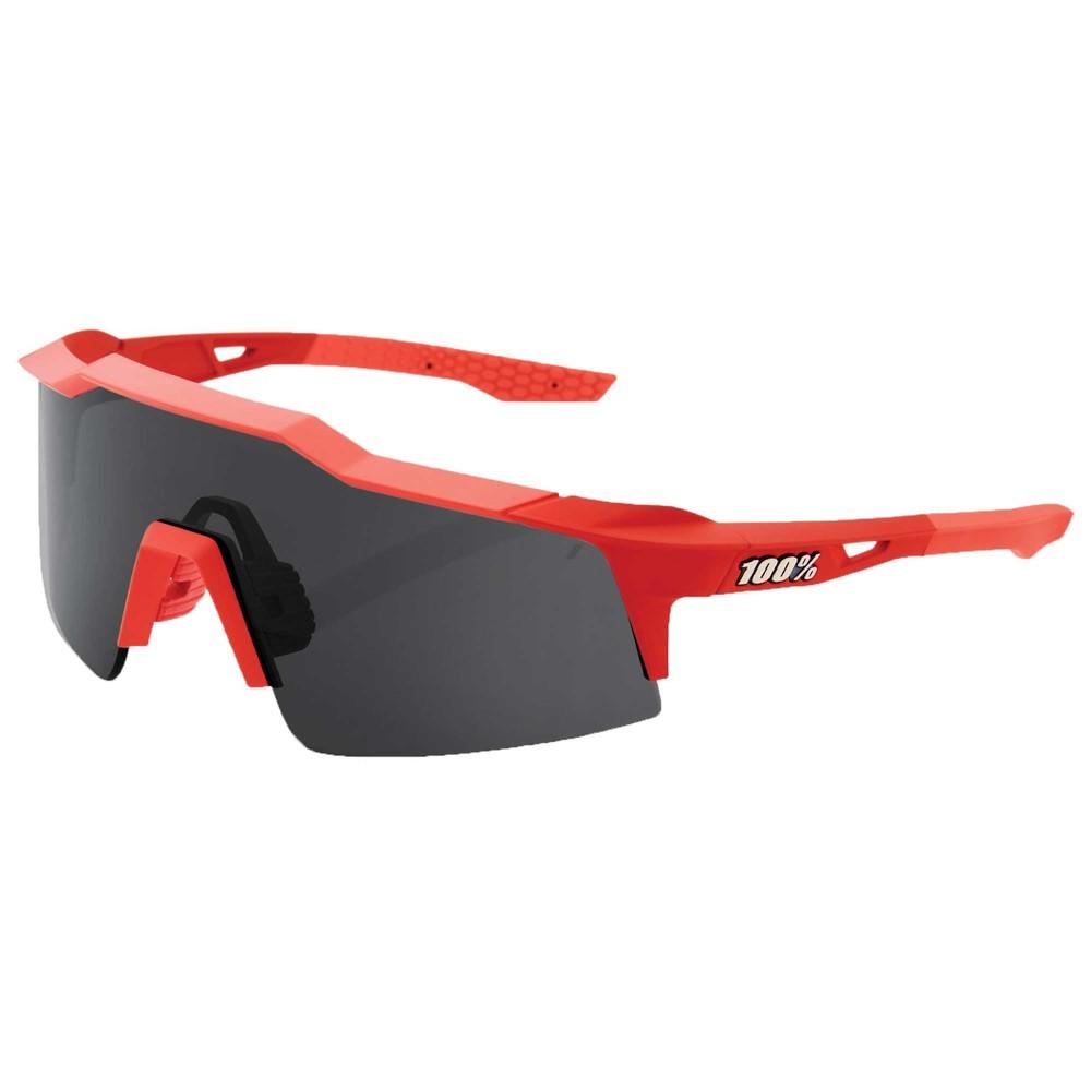 100% Speedcraft SL Coral Sunglasses With Smoke Lens
