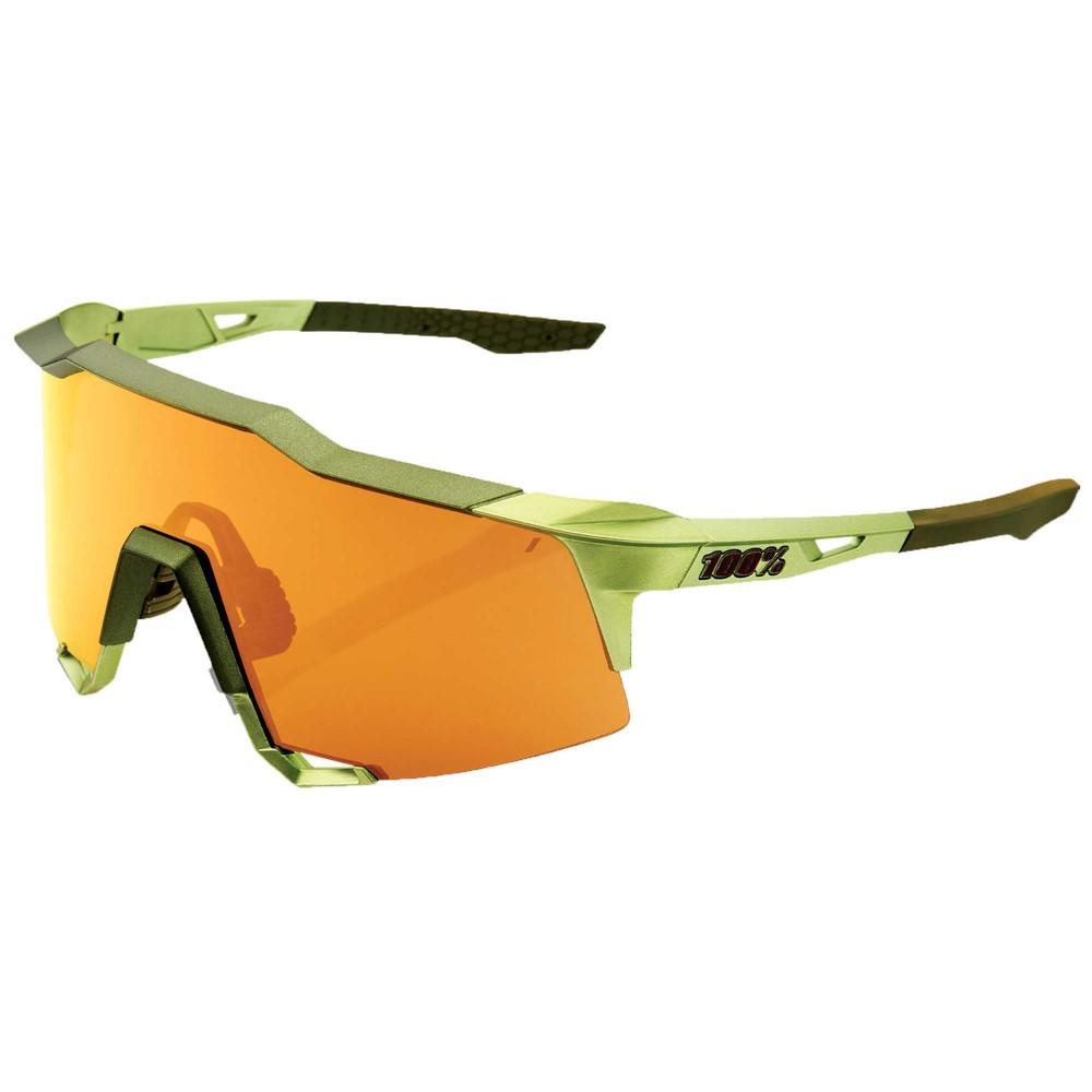 100% Speedcraft Sunglasses With Bronze Multilayer Lens
