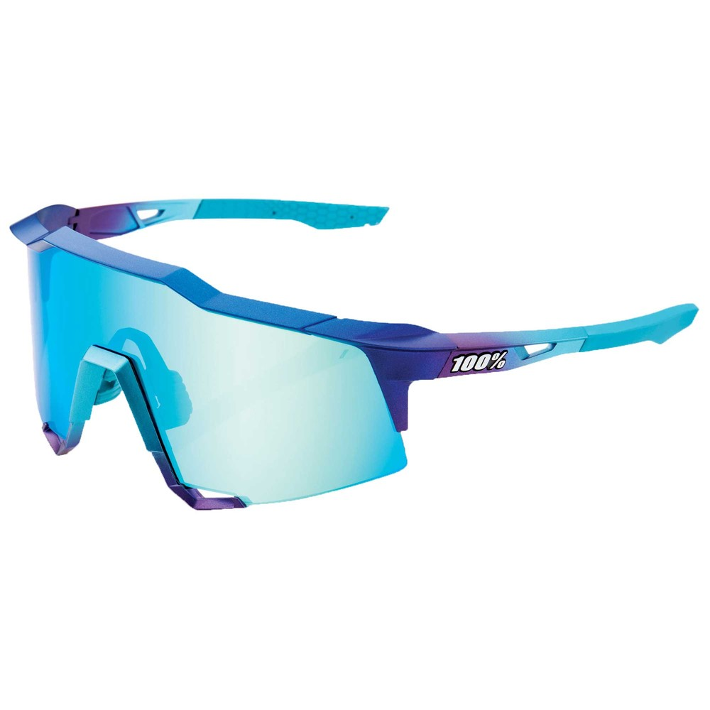 100% Speedcraft Sunglasses With Blue Topaz Multilayer Lens