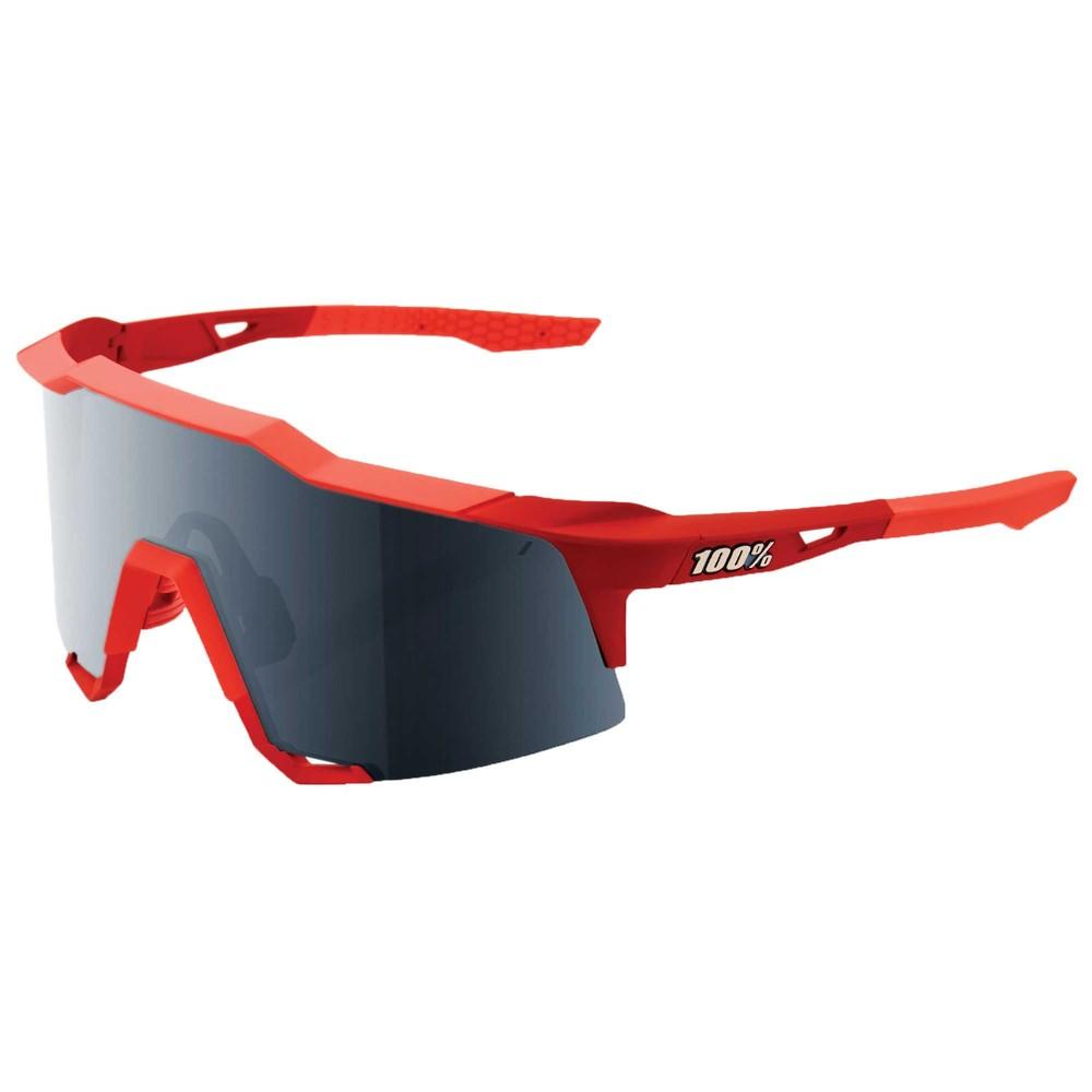 100% Speedcraft Sunglasses With Black Mirror Lens