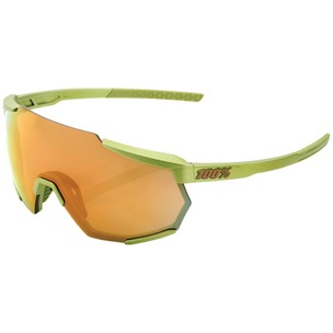 100% Racetrap Sunglasses With Bronze Multilayer Lens