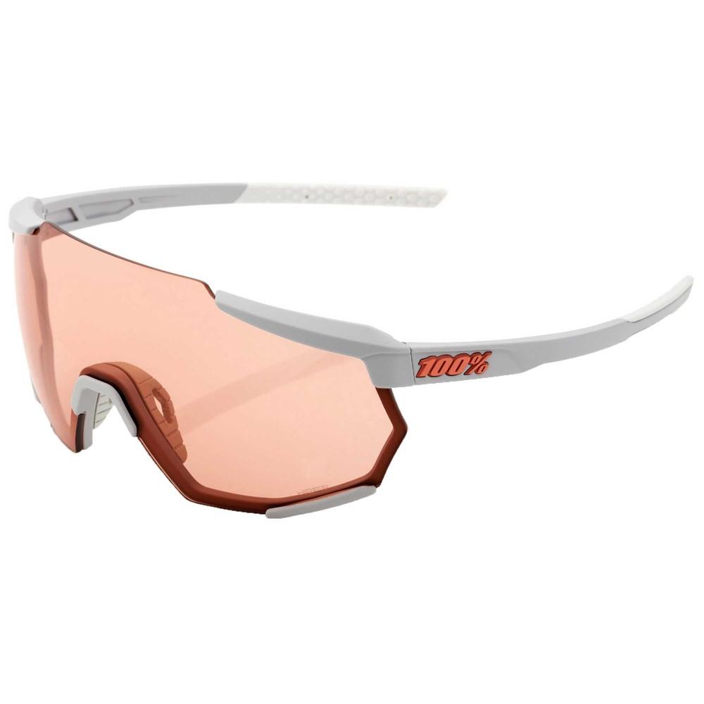100% Racetrap Sunglasses With HiPER Coral Lens