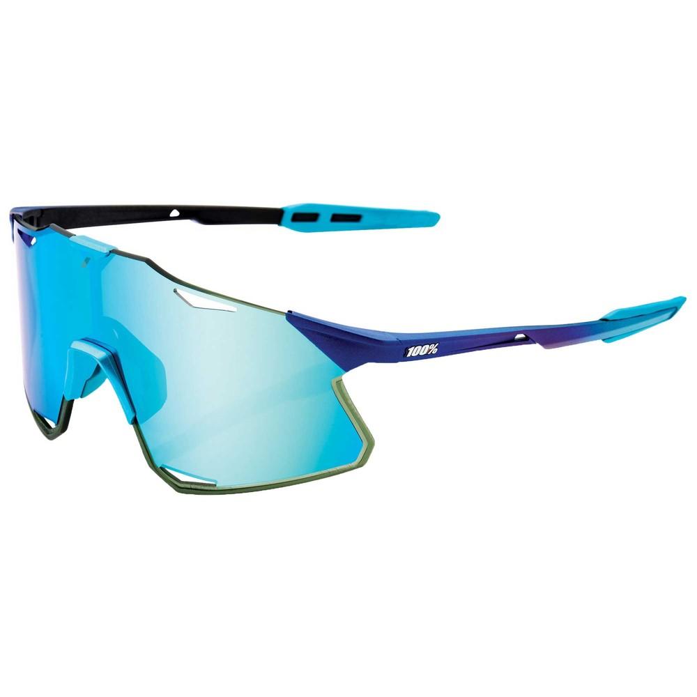 100% Hypercraft Sunglasses With Blue Topaz Mirror Lens