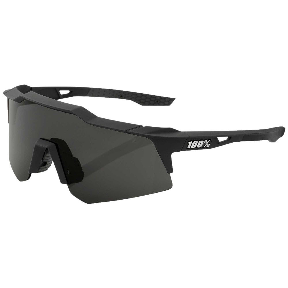 100% Speedcraft XS Sunglasses With Smoke Lens