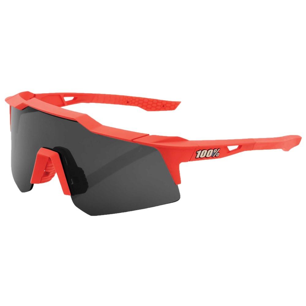 100% Speedcraft XS Sunglasses With Smoke Lens