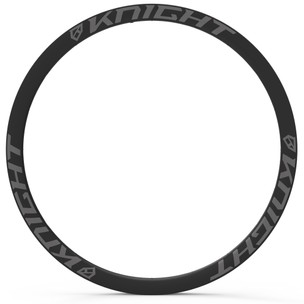 Knight Composites 35 Tubeless Aero Carbon Clincher Rim