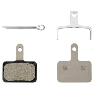 Shimano B01S Steel Backed Resin Disc Brake Pads