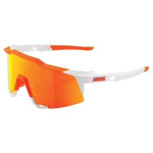 100% Speedcraft Sunglasses With HiPER Red Mirror Lens