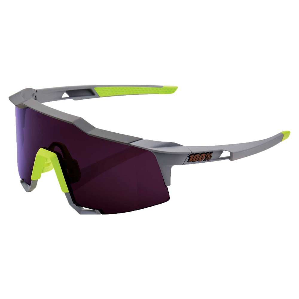 100% Speedcraft Sunglasses With Purple Lens