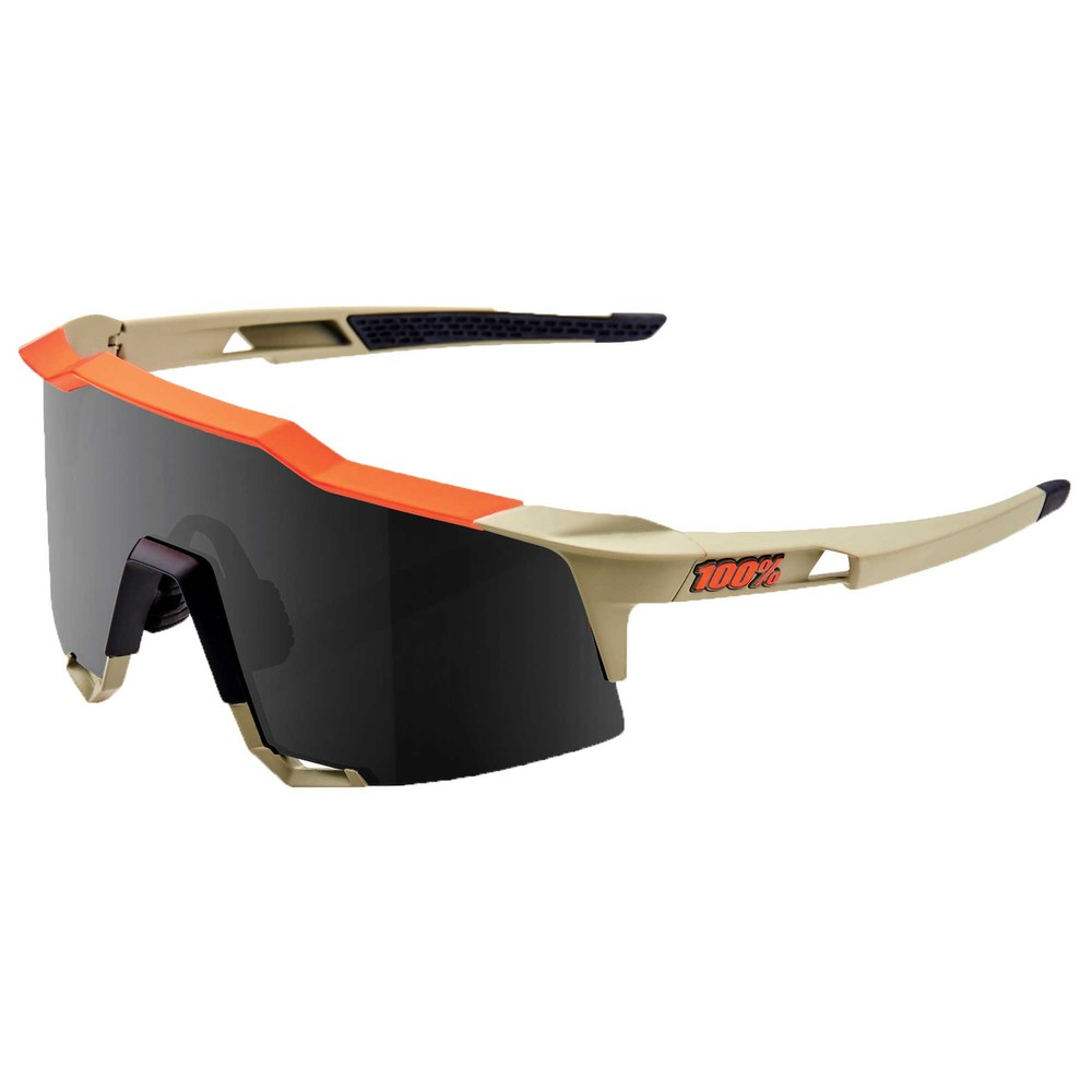 100% Speedcraft Sunglasses With Smoke Lens