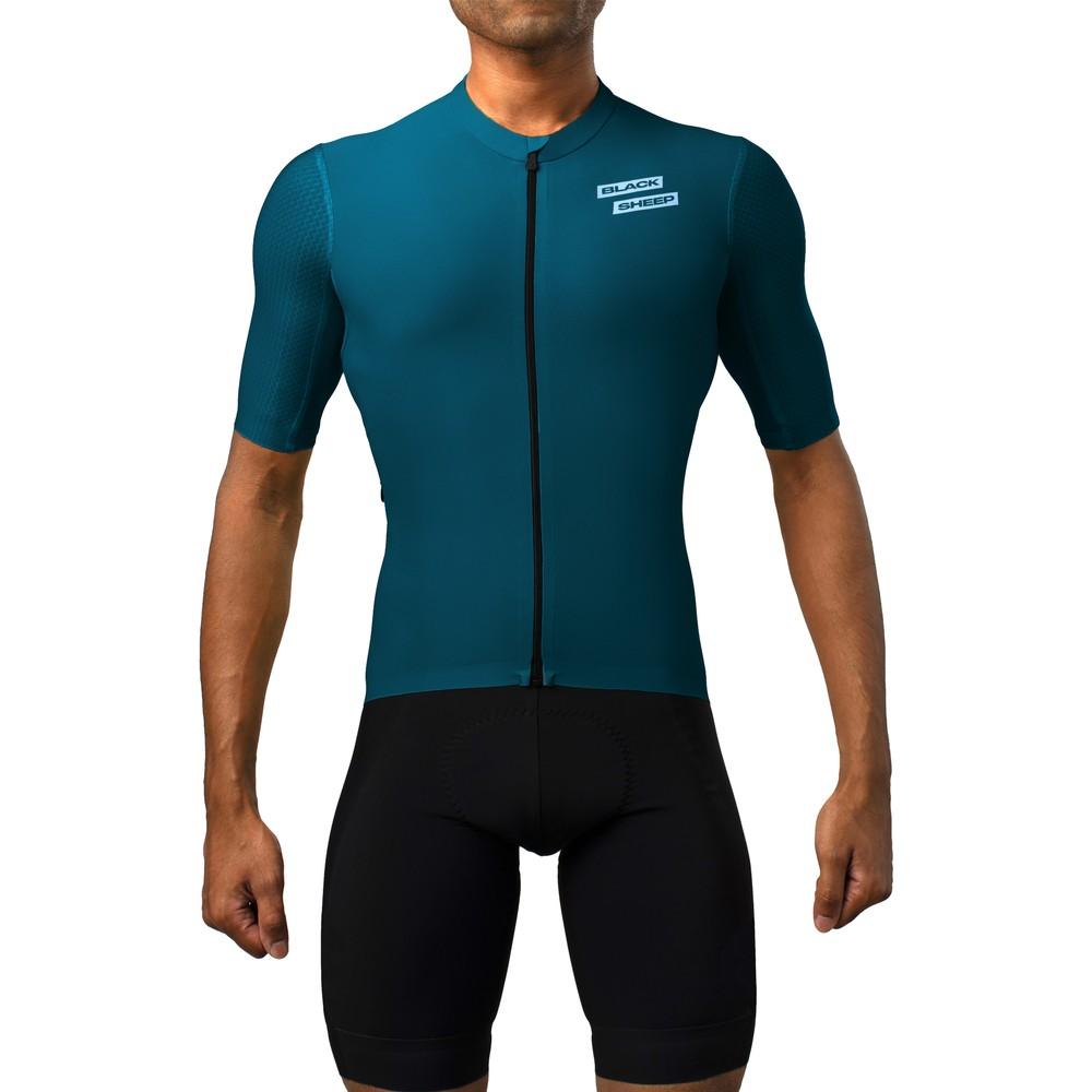 Black Sheep Cycling Aero Racing Short Sleeve Jersey