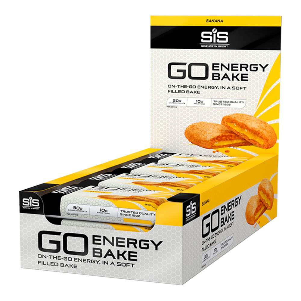 Science In Sport GO Energy Bake Bar Box Of 12 X 50g