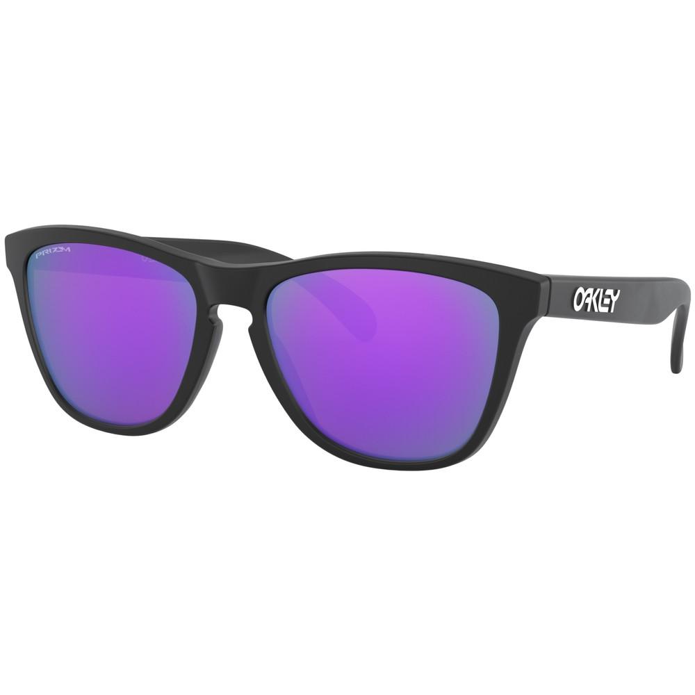 Oakley Frogskins Sunglasses With Prizm Violet Lens