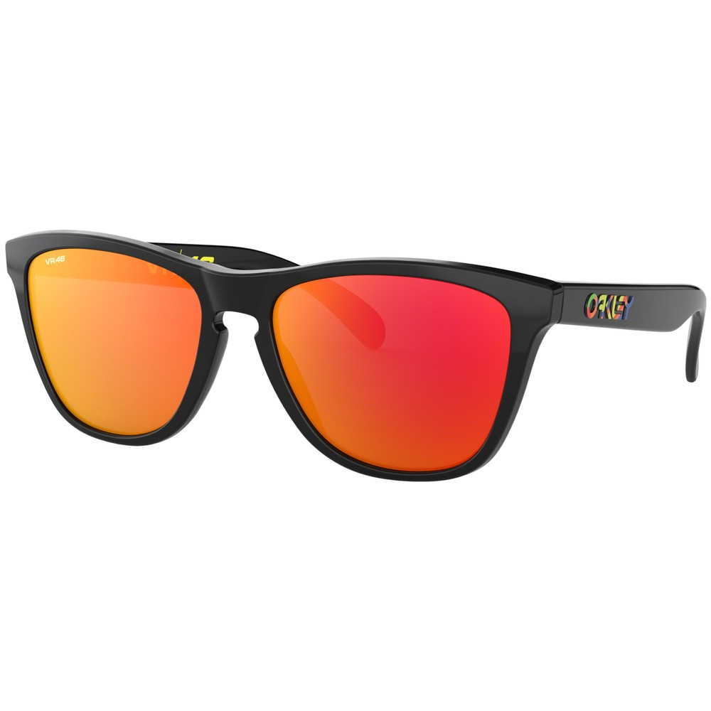 Oakley Frogskins Sunglasses With Prizm Ruby Lens