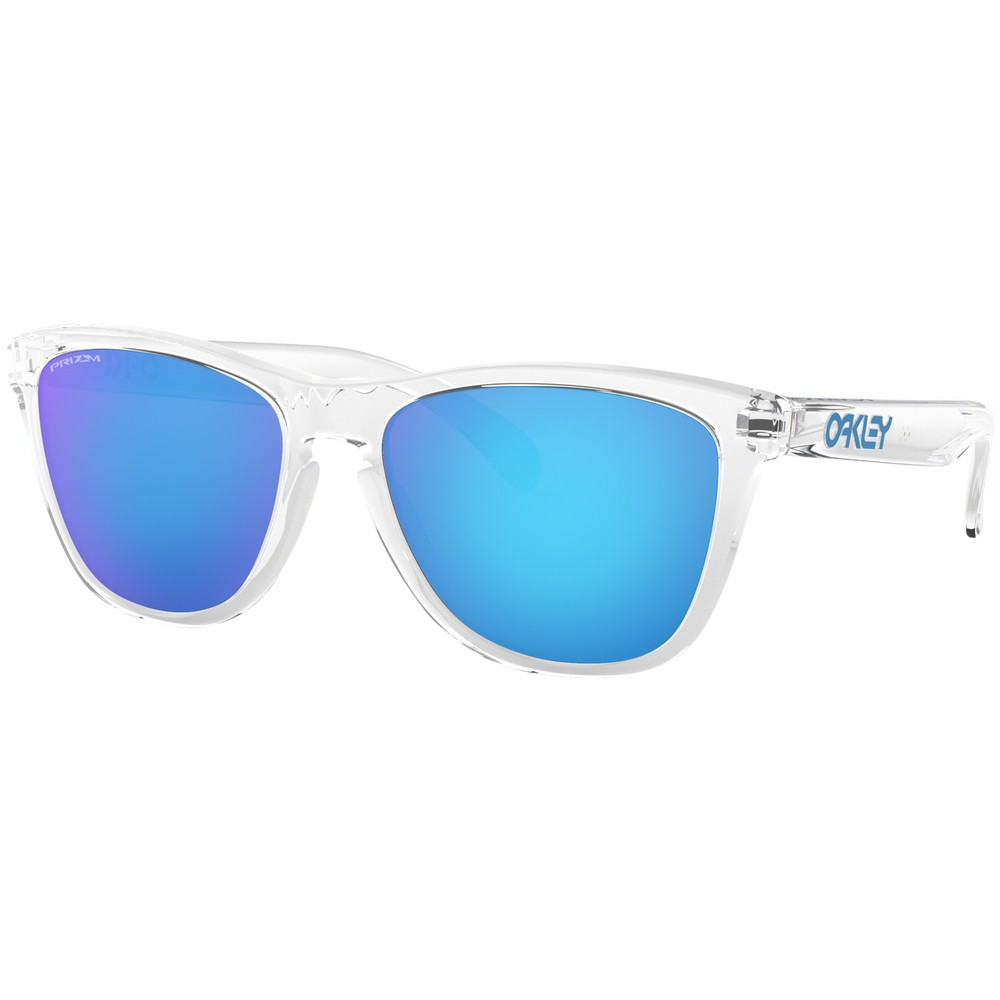 Oakley Frogskins Sunglasses With Prizm Sapphire Lens