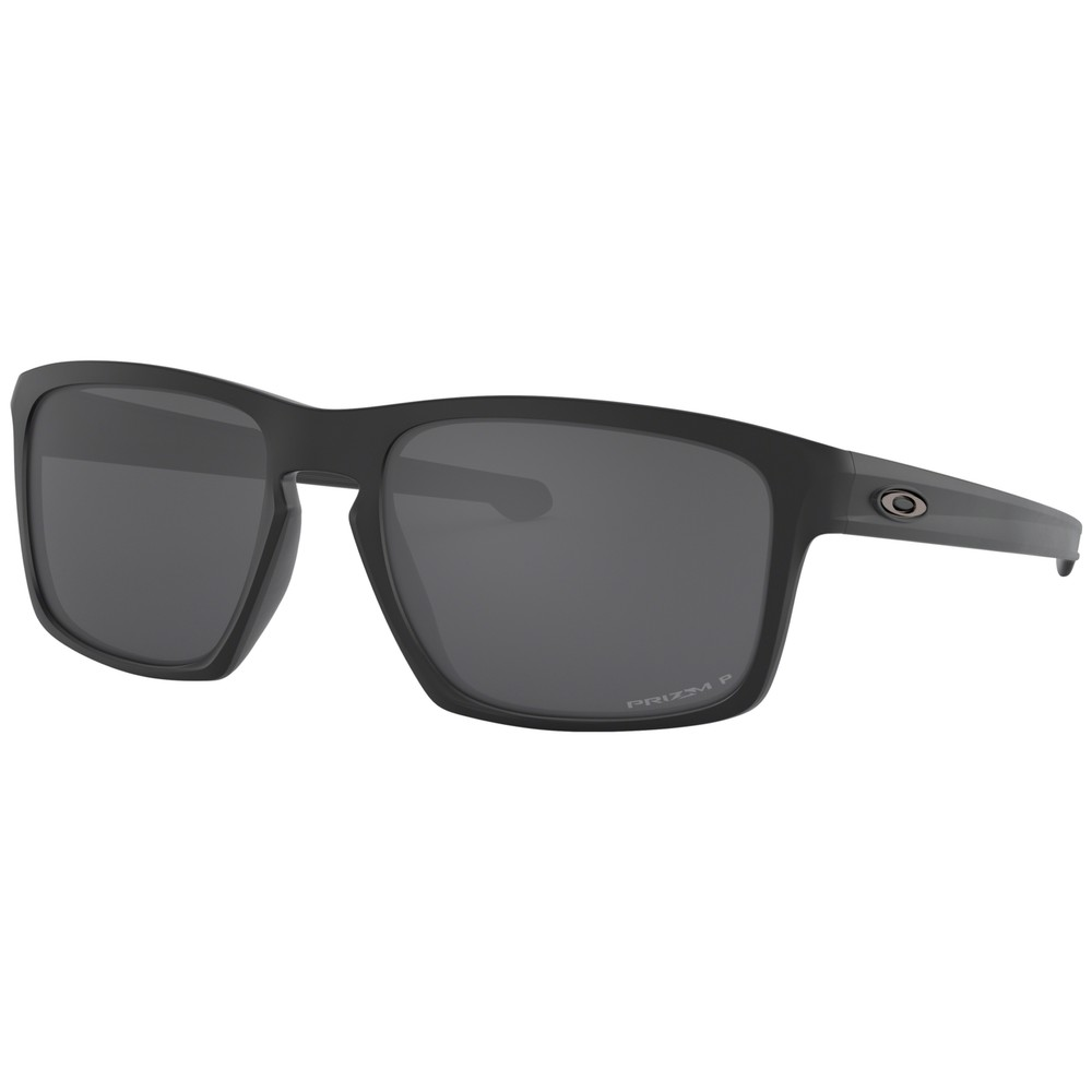 Oakley Sliver Sunglasses With Prizm Black Polarized Lens