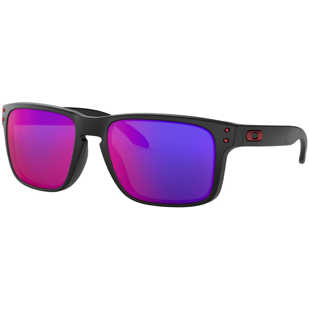 Oakley Holbrook Sunglasses With Red Iridium Lens
