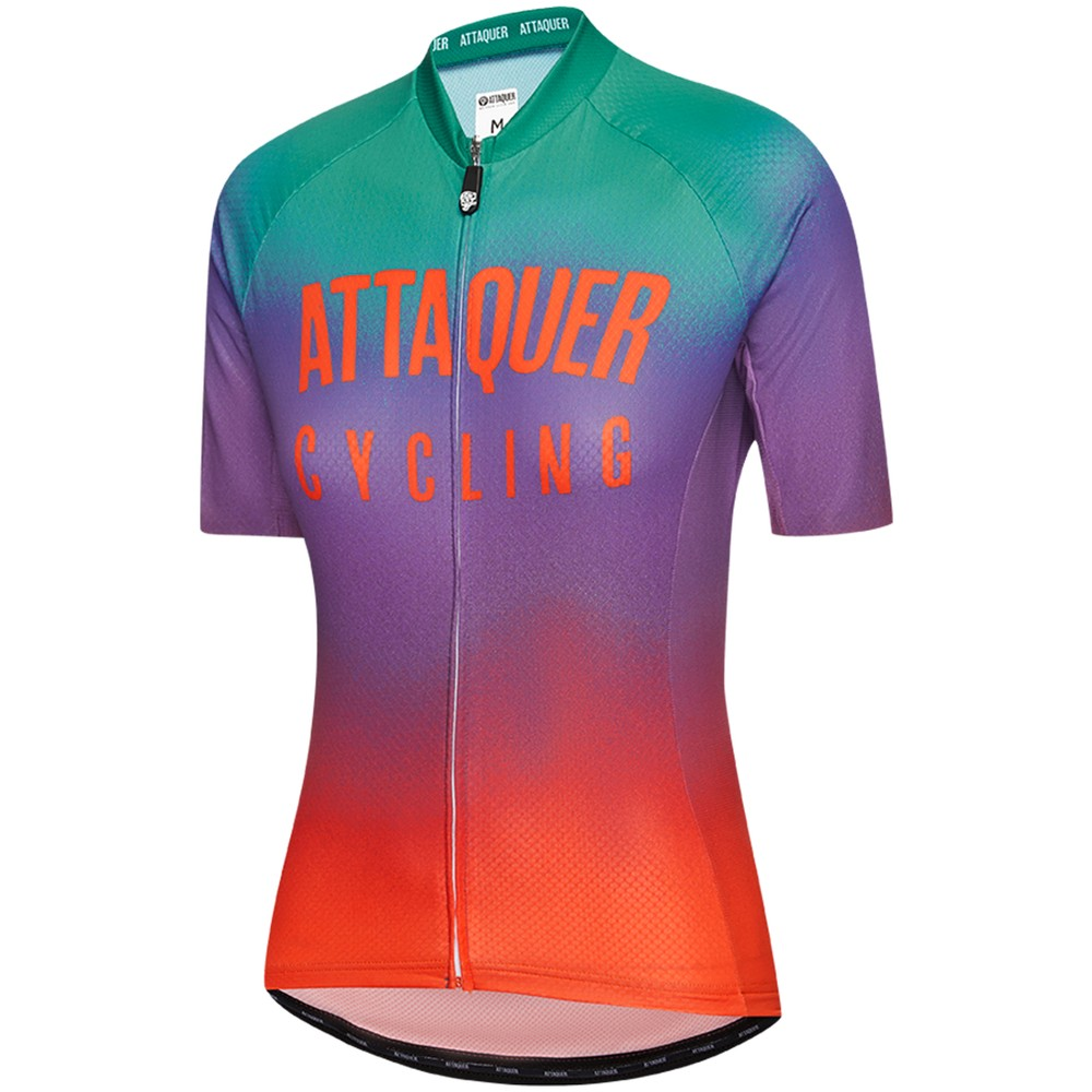 Attaquer All Day Spray Fade Womens Short Sleeve Jersey