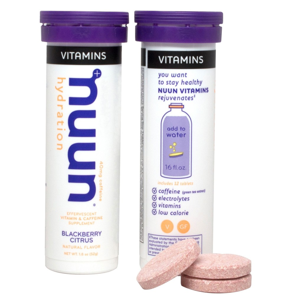 Nuun Vitamins Hydration Tablets Box Of 8 X 12