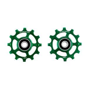 CeramicSpeed Shimano 11-speed Coated Pulley Wheels Green Ltd Edition