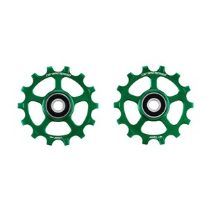 CeramicSpeed Shimano XT/XTR 12-speed Coated Pulley Wheels Green Ltd Edition