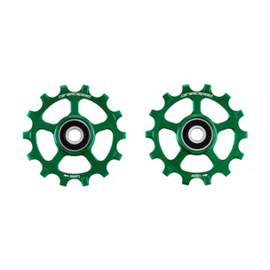 CeramicSpeed SRAM Eagle 12-speed Coated Pulley Wheels Green Ltd Edition