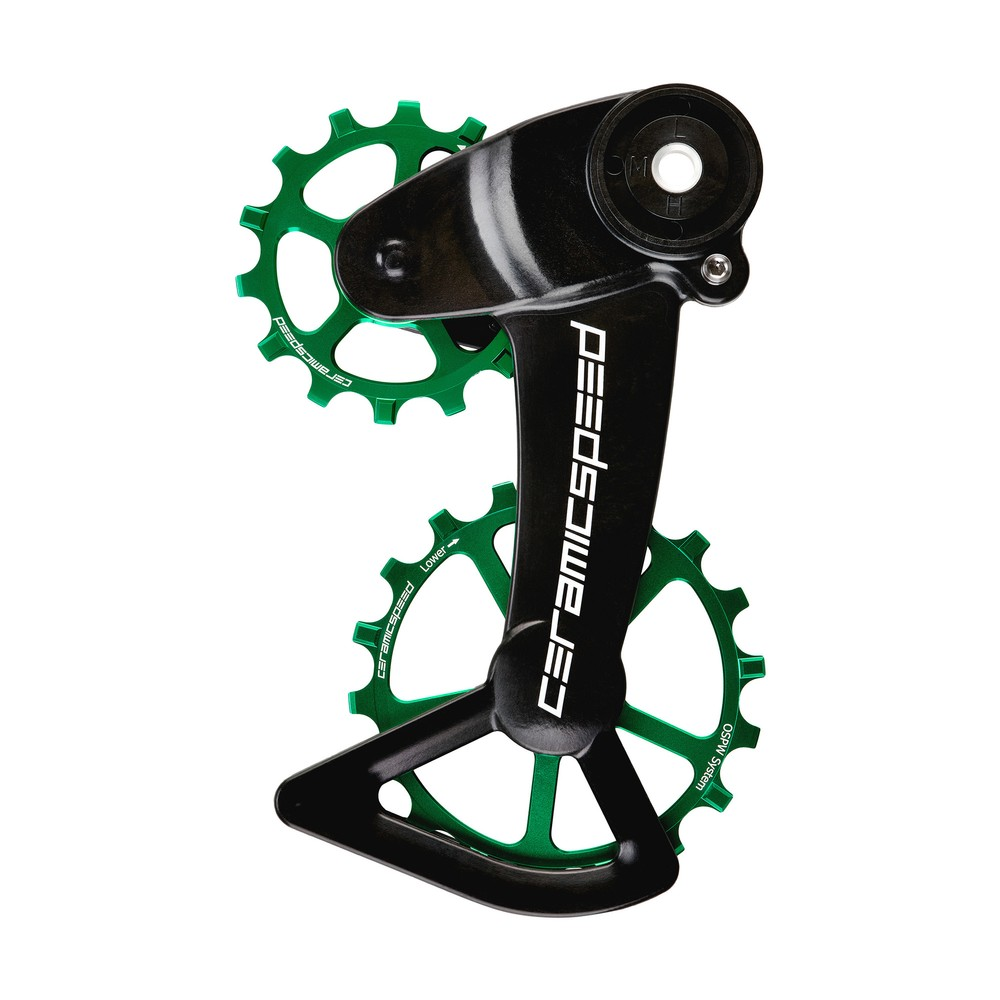 CeramicSpeed OSPW System Coated SRAM Eagle Mechanical Green Ltd Edition