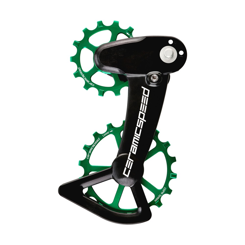 CeramicSpeed OSPW System Coated XT/XTR 12-Speed Green Ltd Edition