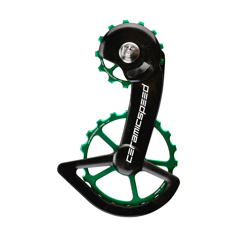 CeramicSpeed OSPW System Coated Shimano Dura-Ace 9100 Green Ltd Edition
