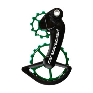 CeramicSpeed OSPW System Coated Campagnolo EPS 12-speed Green Ltd Edition