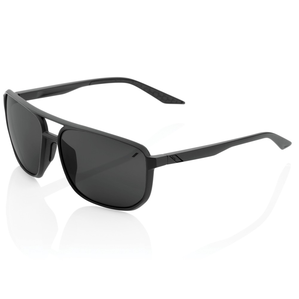 100% Konnor Sunglasses With Black Mirror Lens