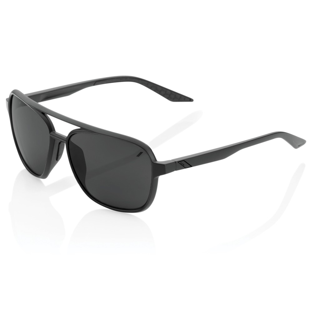 100% Kasia Sunglasses With Black Mirror Lens