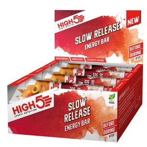 High5 Energy Slow Release Bar Box Of 16 X 40g Bars