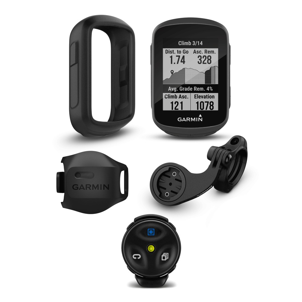 Garmin Edge 130 Plus GPS Enabled Cycling Computer Mountain Bike Bundle