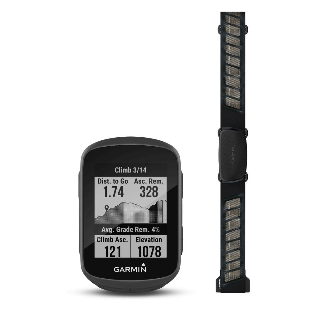 Garmin Edge 130 Plus GPS Enabled Cycling Computer Performance Bundle