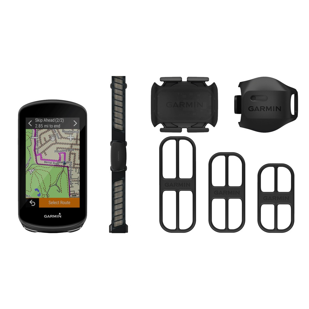 Garmin Edge 1030 Plus GPS Computer Performance Bundle