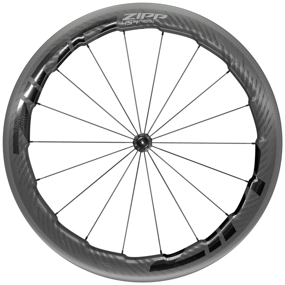 Zipp 454 NSW Carbon Tubeless Clincher Front Wheel
