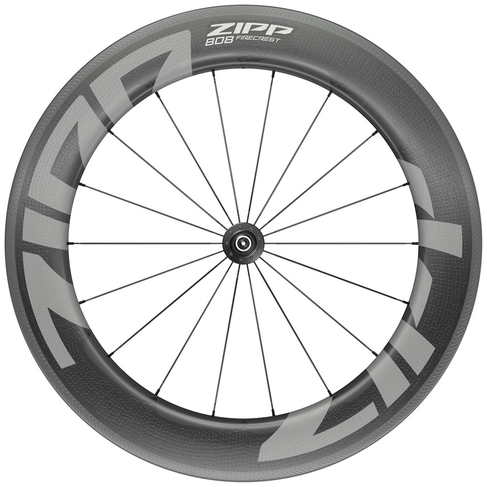 Zipp 808 Firecrest Carbon Tubeless Clincher Front Wheel