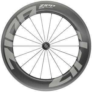 Zipp 808 Firecrest Carbon Tubeless Clincher Front Wheel