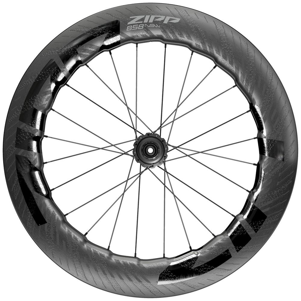 Zipp 858 NSW Carbon Tubeless Disc Brake Rear Wheel