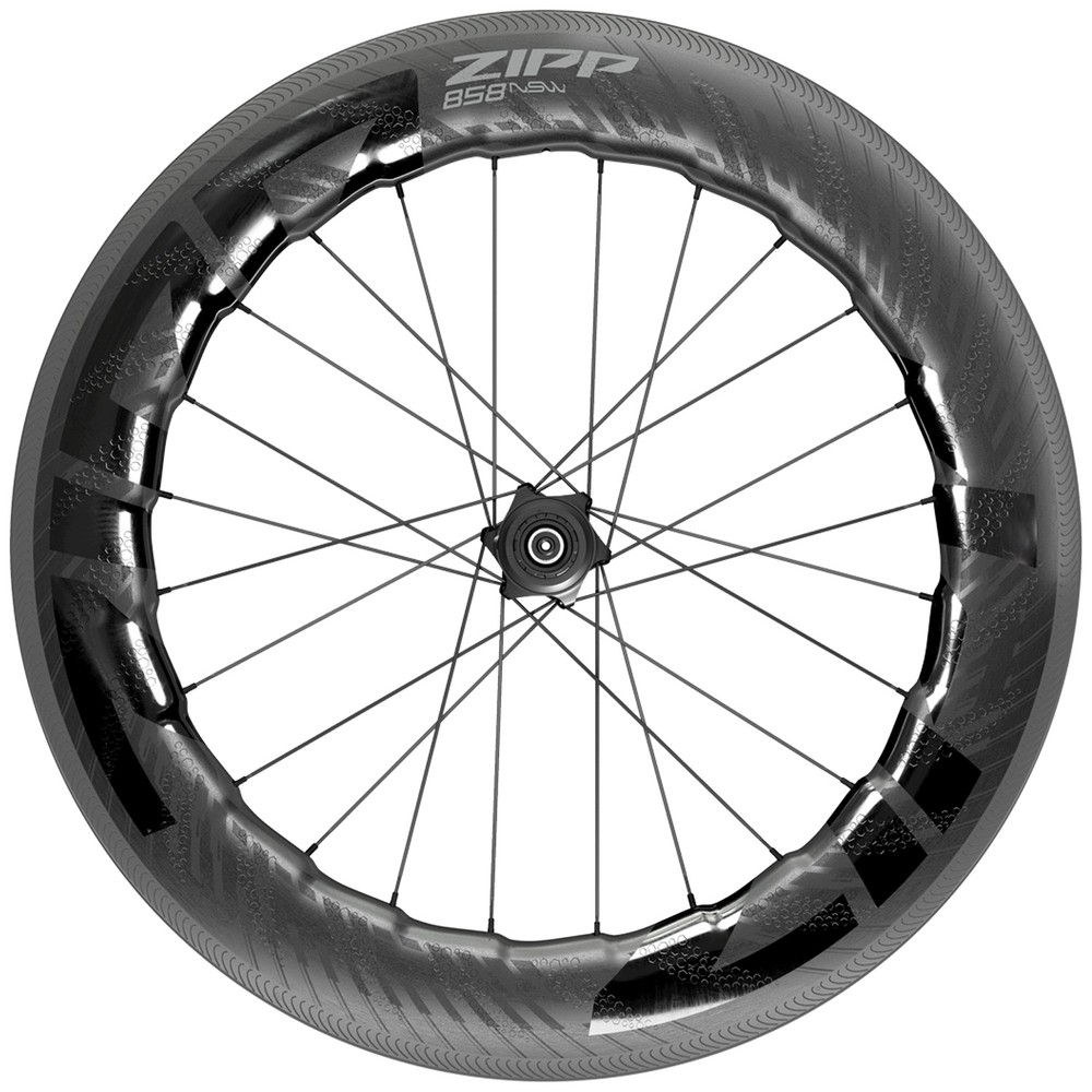 Zipp 858 NSW Carbon Tubeless Clincher Rear Wheel