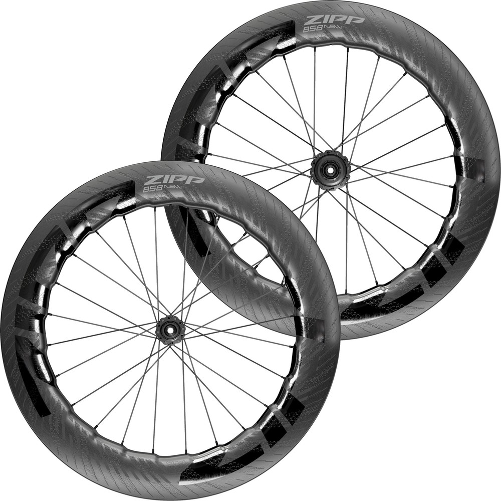 Zipp 858 NSW Carbon Tubeless Disc Brake Wheelset