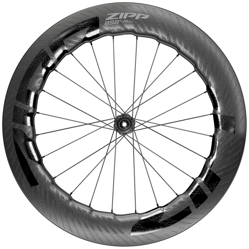 Zipp 858 NSW Carbon Tubeless Disc Brake Front Wheel