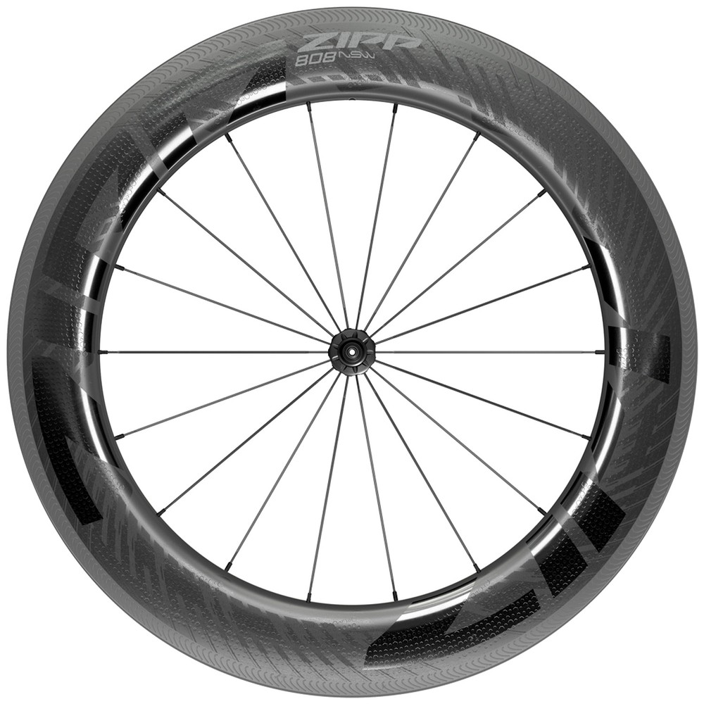 Zipp 808 NSW Carbon Tubeless Clincher Front Wheel