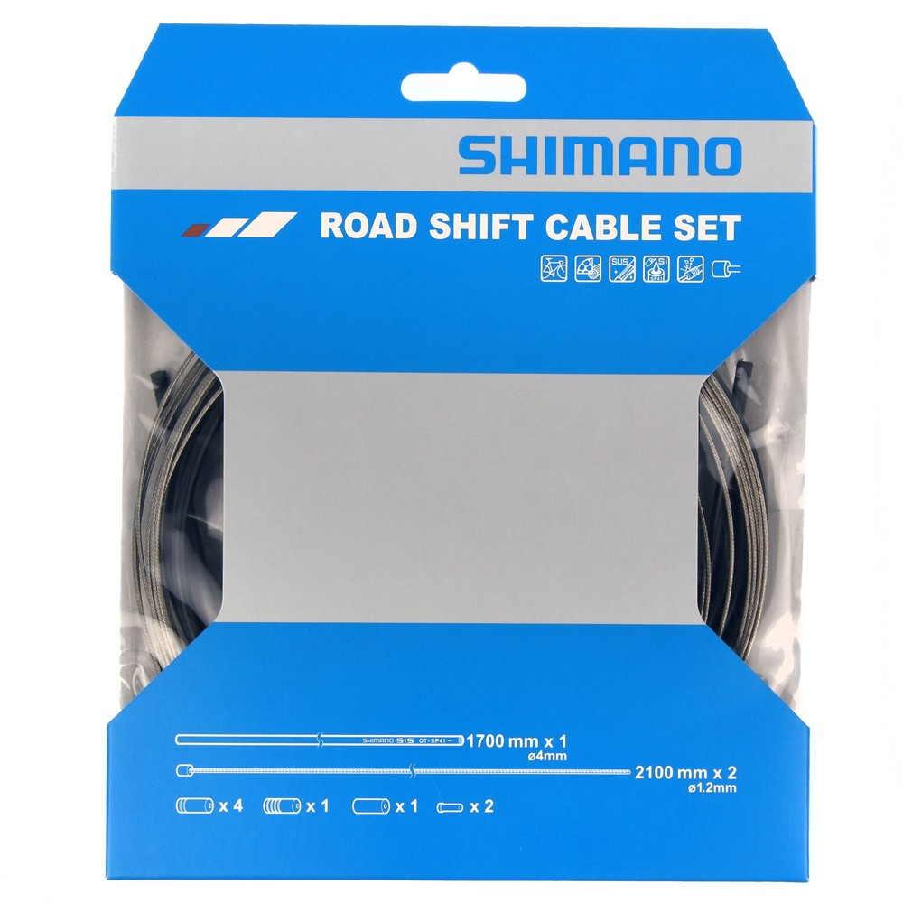 Shimano Road Shift Gear Cable Set Black
