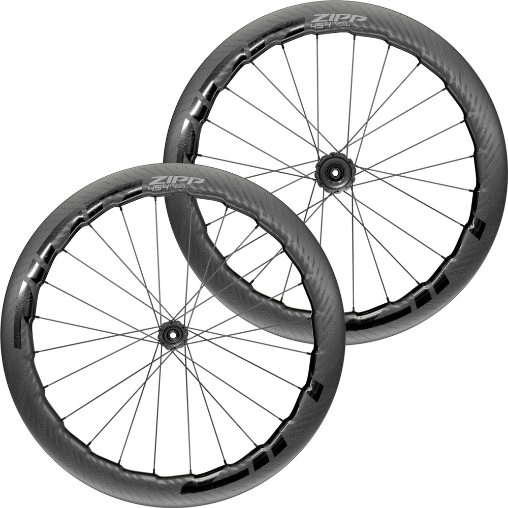 Zipp 454 NSW Carbon Tubeless Disc Brake Wheelset