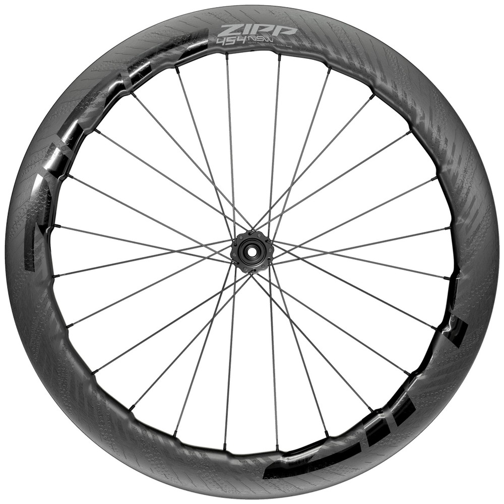 Zipp 454 NSW Carbon Tubeless Disc Brake Front Wheel