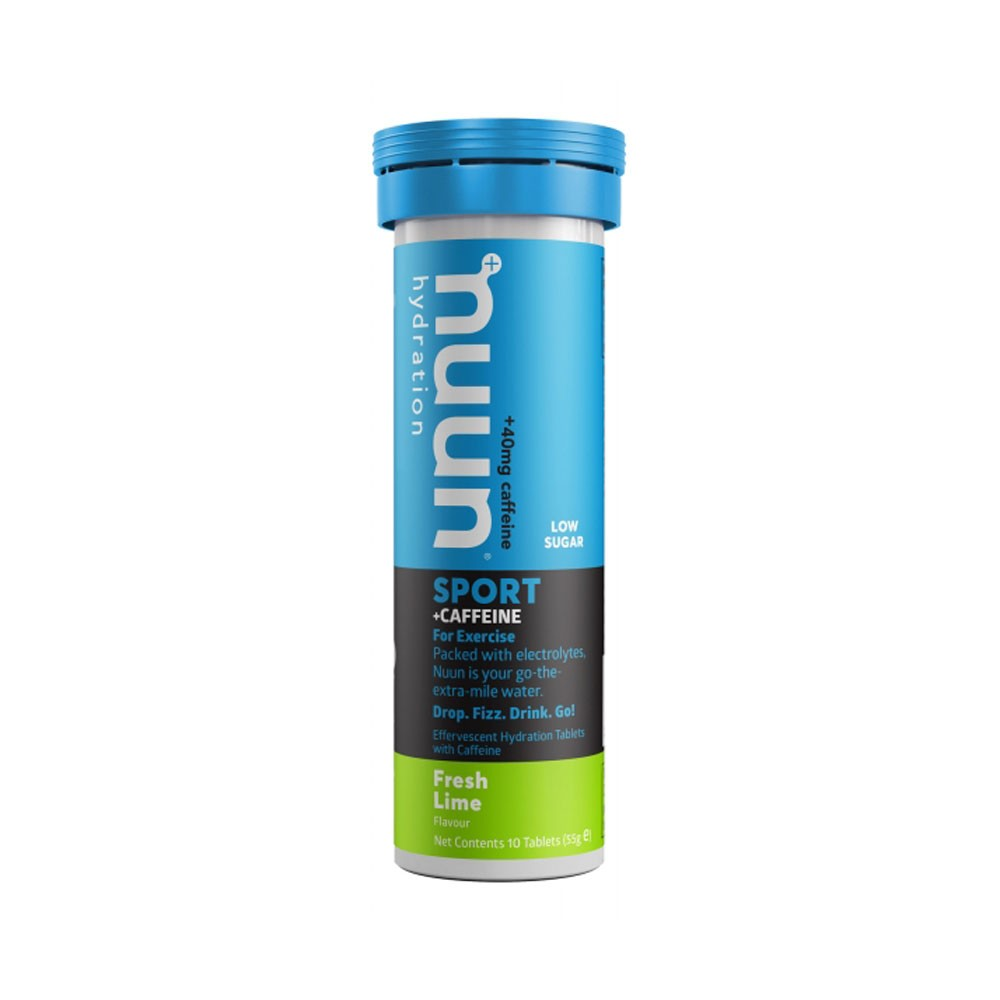 Nuun Boost Caffeinated Hydration Tablets Box (8 Tubes Of 10 Tablets)